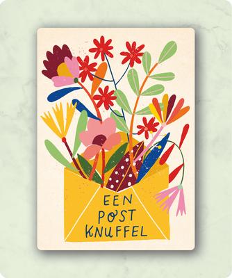 ZintenZ - Kaart: Een post knuffel