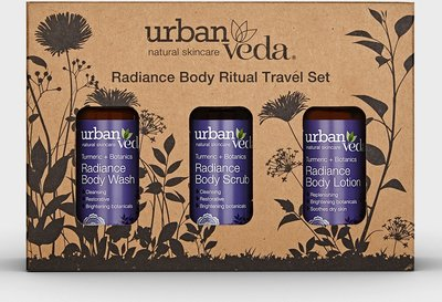 Urban Veda - Radiance Body Ritual Travel Set