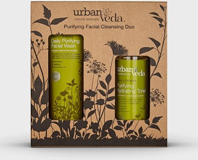 Urban Veda - Purifying Facial Cleansing Duo