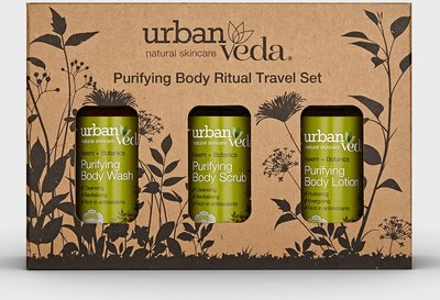 Urban Veda - Purifying Body Ritual Travel Set