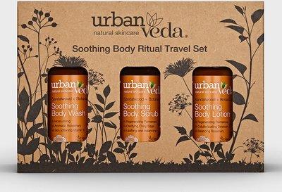 Urban Veda - Soothing Body Ritual Travel Set