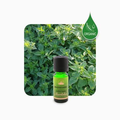 Alambika - Etherische olie: Marjoram Sweet / Marjolein Biologisch Gecertificeerd (THT: 03-2022)