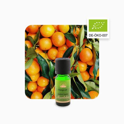 Alambika - Etherische olie: Orange Red / Rode Sinaasappel Biologisch Gecertificeerd