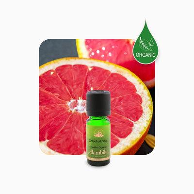 Alambika - Etherische olie: Grapefruit Pink (Pompelmoes) Biologisch Gecertificeerd (tht: 07-2021)