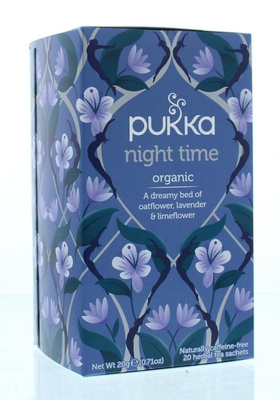Pukka Org. Teas - Night Time
