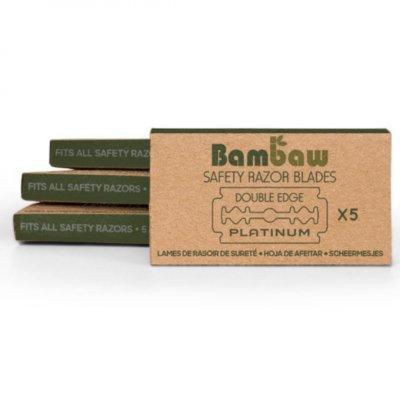 Bambaw - 5 Metalen Scheermesjes