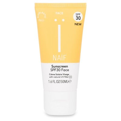 Naïf - Natuurlijke Zonnebrandcrème Face SPF 30