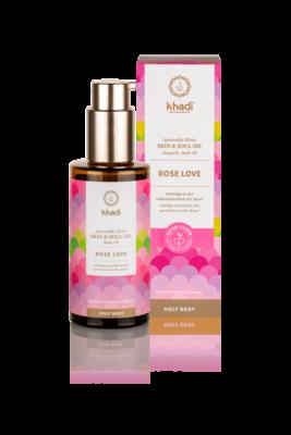 Khadi - Ayurvedic Elixir Skin & Soul Body Oil: Rose Love