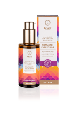 Khadi - Ayurvedic Elixir Skin & Soul Body Oil: Shatavari Everyoung