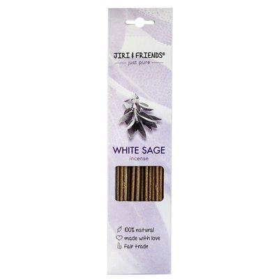 Jiri & Friends - Wierook Stokjes: White Sage