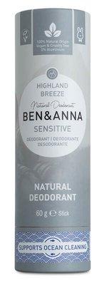 Ben & Anna - Natuurlijke Deodorant Push Up: Highland Breeze Sensitive