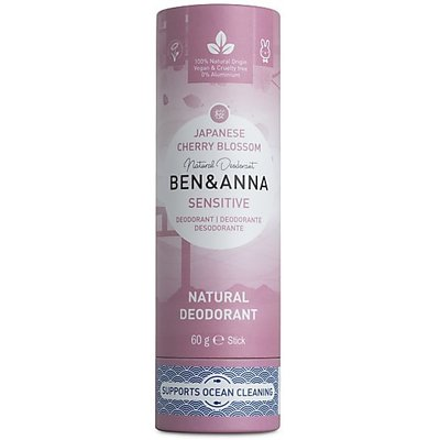 Ben & Anna - Natuurlijke Deodorant Push Up: Cherry Blossom Sensitive