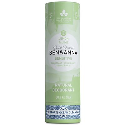 Ben & Anna - Natuurlijke Deodorant Push Up: Lemon & Lime Sensitive