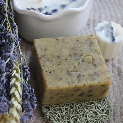 Atelier do Sabão - Lavendel Scrub Zeep
