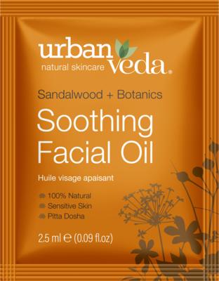 Urban Veda - Sachet Soothing Facial Oil 2,5ml