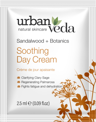 Urban Veda - Sample Soothing Day Cream 2.5ml