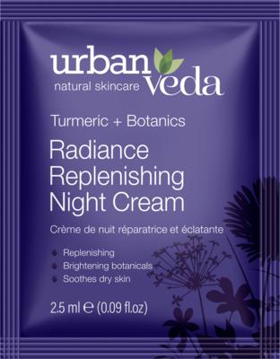 Urban Veda - Sachet Radiance Replenishing Night Cream 2,5ml