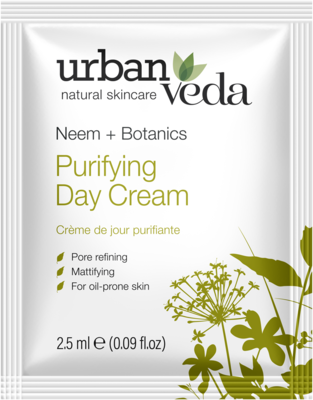 Urban Veda - Sachet Purifying Day Cream 2,5 ml