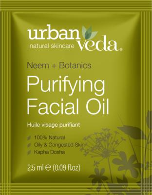 Urban Veda - Sample Purifying Facial Oil 2,5 ml