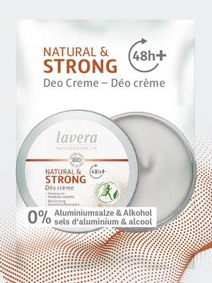Lavera - Sachet Deodorant Crème Natural & Strong 1ml