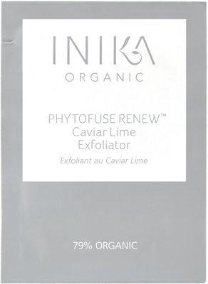 INIKA - Sachet Phytofuse Renew Caviar Lime Exfoliator 1,5ml