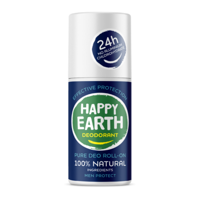 Happy Earth - Pure Deo Roll-On: Men Protect