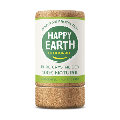 Happy Earth - Deodorant Crystal Stick Unscented