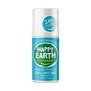 Happy Earth - Pure Deo Roll-On: Cedar Lime