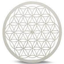 Crystal Grid White: Flower Of Life