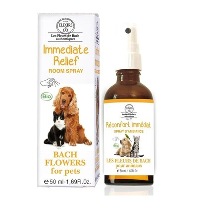Bach Flowers For Pets - Immediate Relief Roomspray