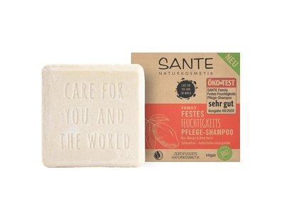 Sante - Family Moisturising Solid Shampoo: Organic Mango & Aloë Vera