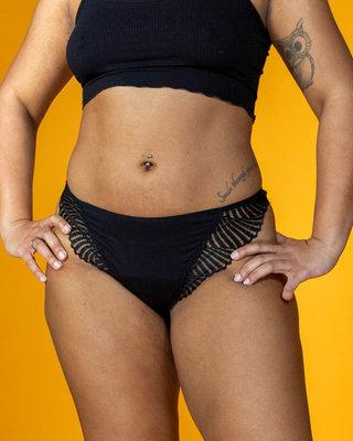 Lotties Period Underwear - Lacy String XXL