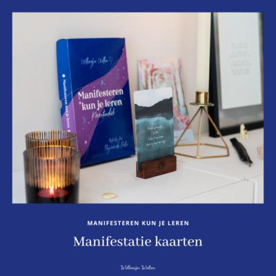 Kaartendeck - Manifesteren Kun Je Leren | Willemijn Welten