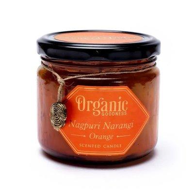 Organic Goodness - Sojawas Geurkaars: Orange