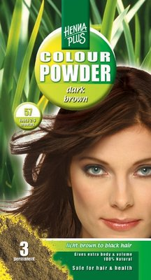Hennaplus - Dark Brown Kleur Poeder