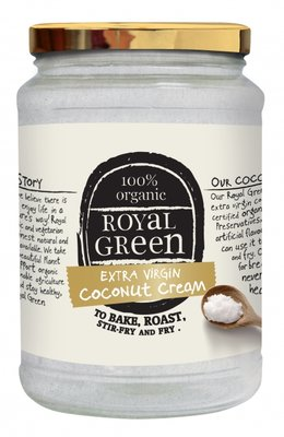Royal Green - Coconut Cooking Cream Extra Vierge Kokosolie 1400 ml