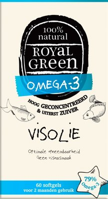 Royal Green - Omega 3 Visolie 60 softgels