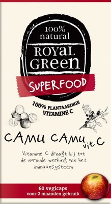 Royal Green - Camu Camu Vitamine C 60 vcaps