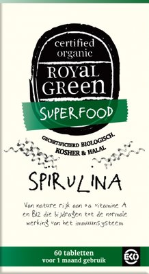 Royal Green - Spirulina 60 tabl.