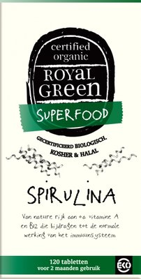 Royal Green - Spirulina 120 tabl.