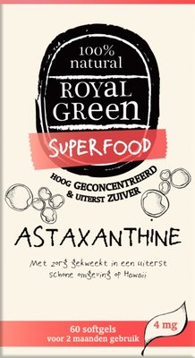 Royal Green - Astaxanthine 60 softgels
