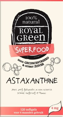 Royal Green - Astaxanthine 120 softgels
