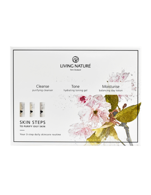 Living Nature - Skin Steps Vette Huid