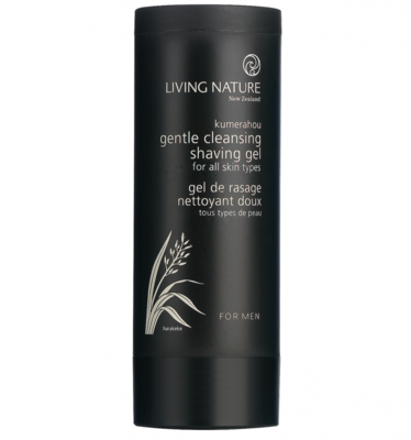 Living Nature - Gentle Cleansing Shaving Gel
