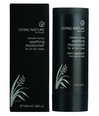 Living Nature - Soothing Moisturiser For Men