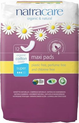 Natracare - Maandverband Super / Natural Maxi Pads Super