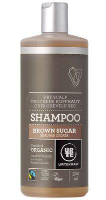 Urtekram - Bruine Suiker Shampoo 500 ml