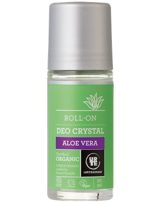 Urtekram - Deodorant Crystal Roll On: Aloë Vera