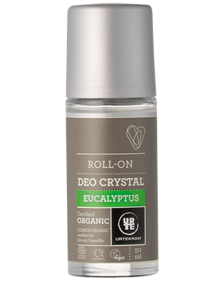 Urtekram - Deodorant Crystal Roll On: Eucalyptus