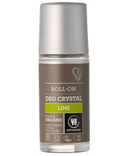Urtekram - Deodorant Crystal Roll On: Lime